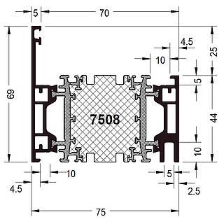 Rahmen 7508 ( 69 mm )