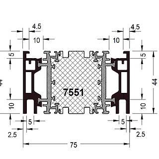 Rahmen 7551 ( 44 mm )