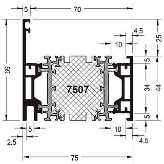 Rahmen 7507 ( 69 mm )