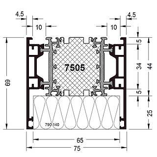Rahmen 7505 ( 69 mm )