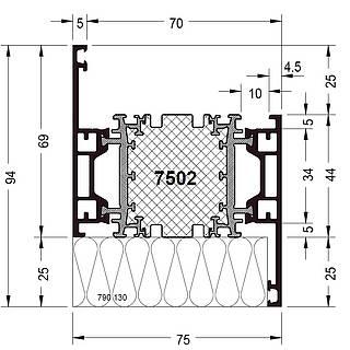 Rahmen 7502 ( 94 mm )