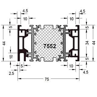 Rahmen 7552 ( 44 mm )