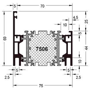 Rahmen 7506 ( 69 mm )