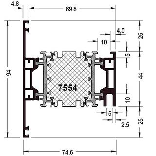 Rahmen 7554 ( 94 mm )