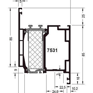 Türflügel 7531 ( 110 mm )