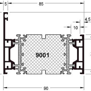 Rahmen 9001 ( 69 mm )