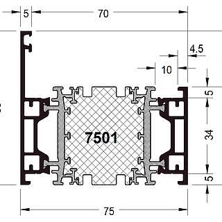 Rahmen 7501 ( 69 mm )
