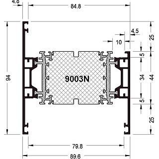 Rahmen 9003 N ( 94 mm )
