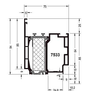 Türprofil 7533 ( 94 mm )