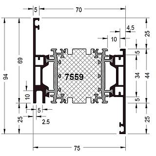 Rahmen 7559 ( 94 mm )