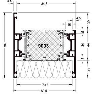 Rahmen 9003 ( 94 mm )